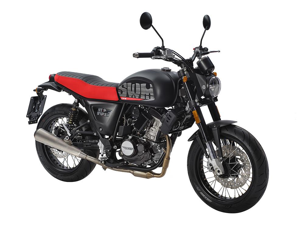 Swm Motorcycles Ace of Spade lato