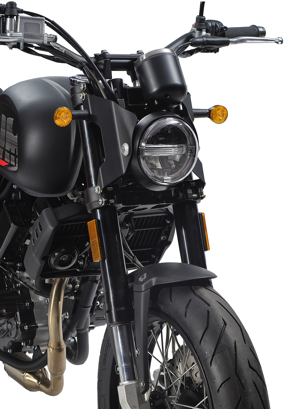 Swm Motorcycles Ace of Spade fronte