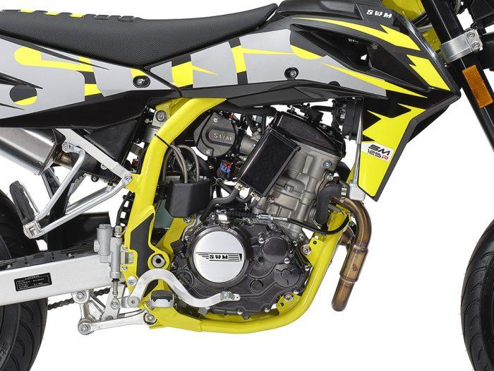 SWM Motorcycles SM125R dettaglio