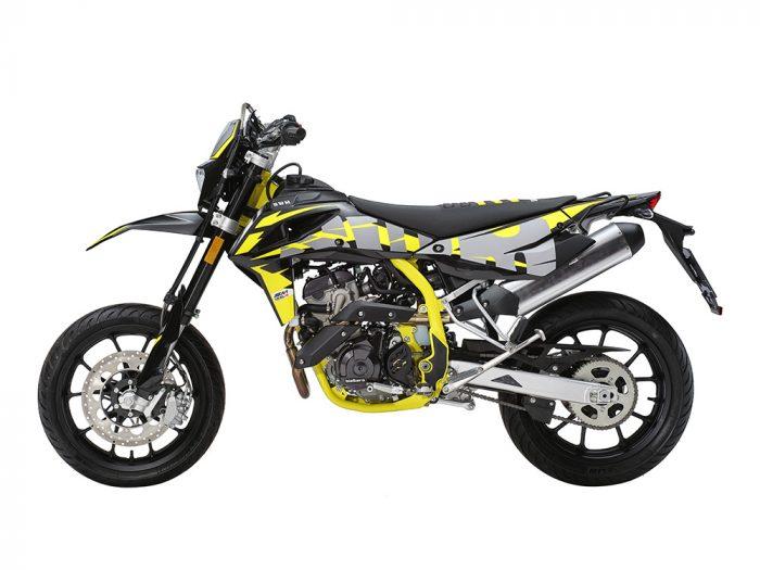 SWM Motorcycles SM125R scarico
