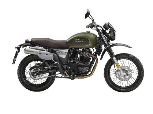 Swm Motorcycles Six Days green
