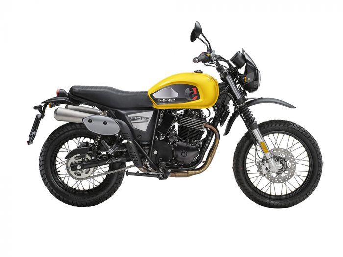 Swm Motorcycles Six Days yellow