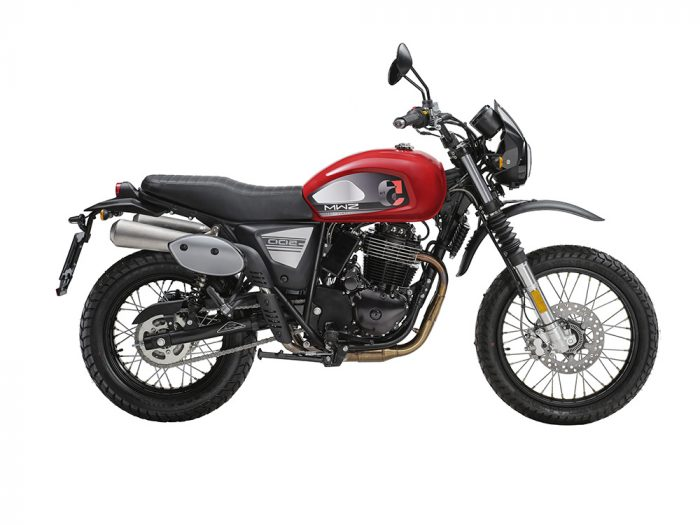 Swm Motorcycles Six Days red