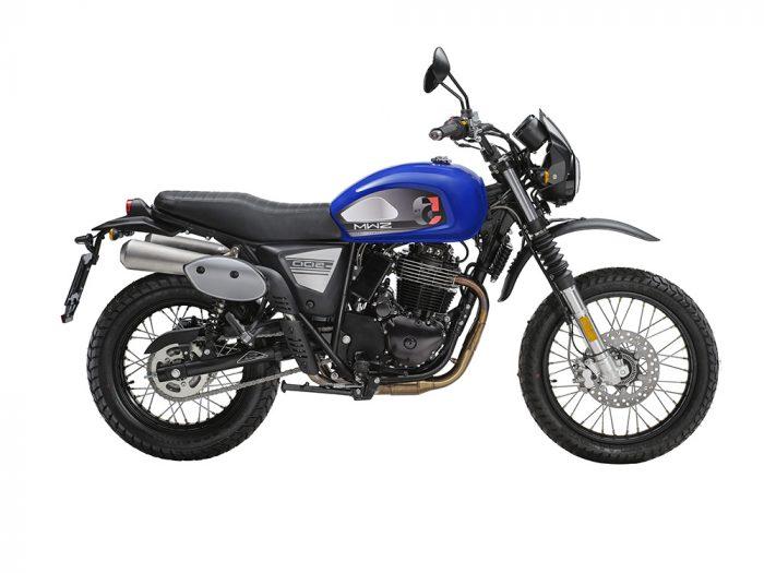 SWM Motorcycles SixDays 50esimo blu
