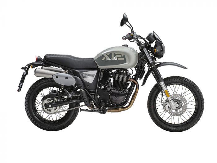 SWM Motorcycles SixDays grigia