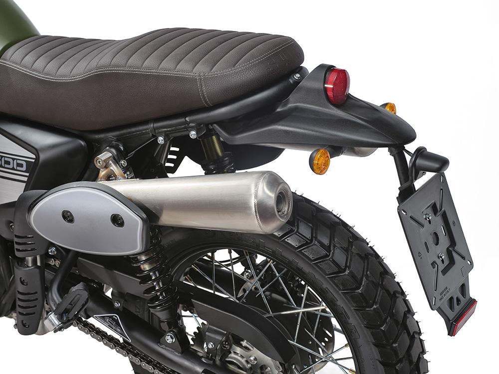 SWM Motorcycles SixDays retro