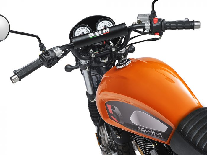 SWM Motorcycles SixDays 50esimo arancione