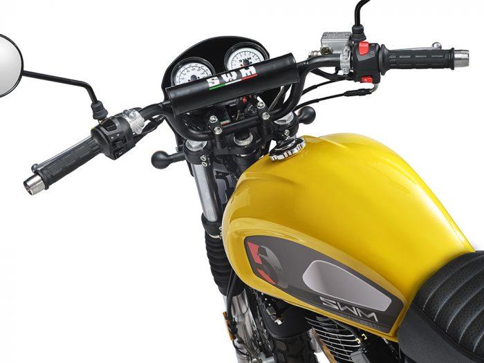 SWM Motorcycles SixDays 50esimo gialla
