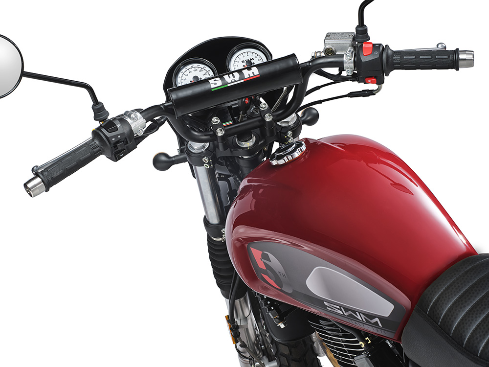 SWM Motorcycles SixDays 50esimo rossa