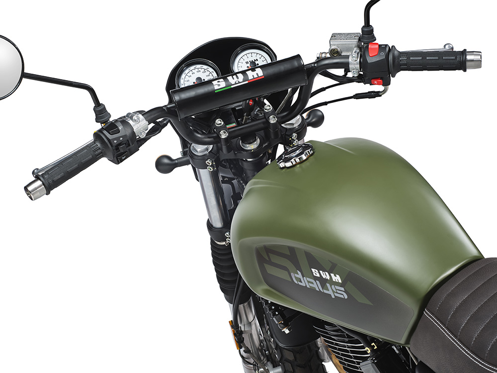 SWM Motorcycles SixDays verde oliva