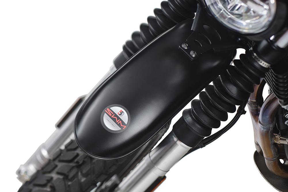 SWM Motorcycles SixDays 50esimo marchio